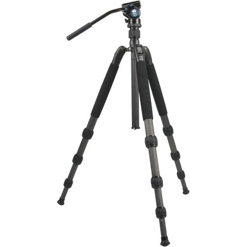 Sirui N-2204SK N-S Series Carbon Fiber Tripod & VA-5 Ultra-Compact Video Head Kit