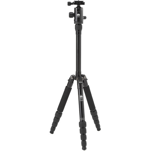 Sirui T-005X Aluminum Tripod with C-10S Ball Head (Black)