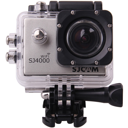 SJCAM SJ4000 Action Camera with Wi-Fi (Silver)