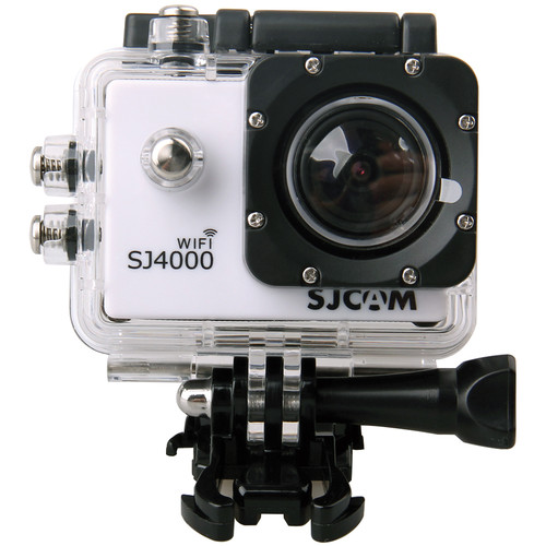 SJCAM SJ4000 Action Camera with Wi-Fi (White)