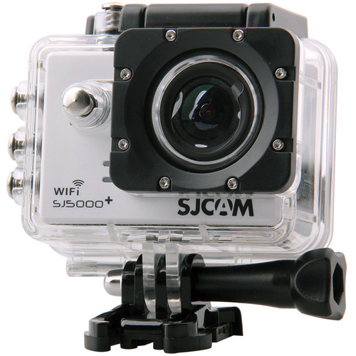 SJCAM SJ5000 Plus HD Action Camera with Wi-Fi (White)