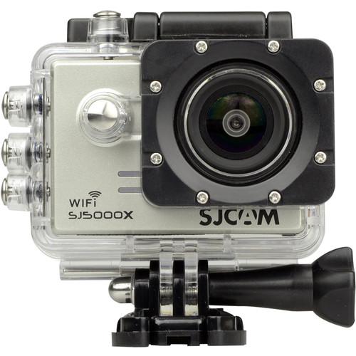 SJCAM SJ5000X Elite 4K Action Camera (Silver)