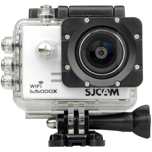 SJCAM SJ5000X Elite 4K Action Camera (White)