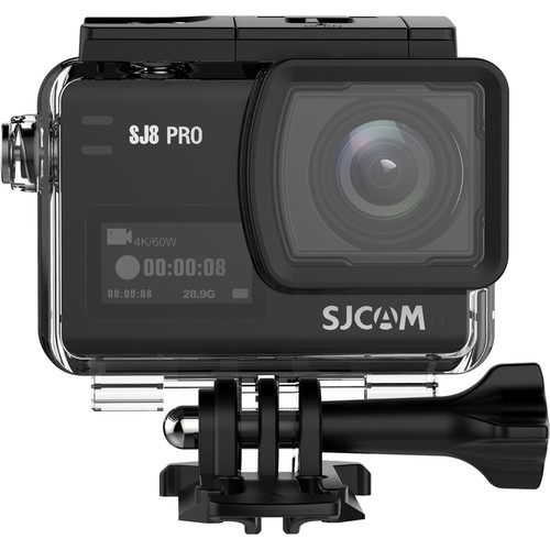 SJCAM SJ8 Pro 4K Action Camera (Black)