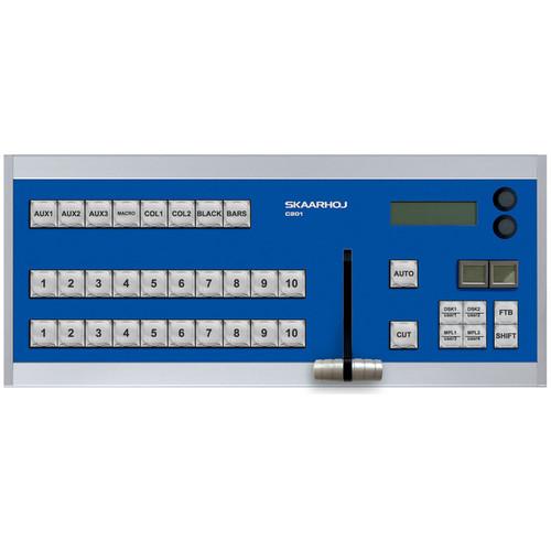 SKAARHOJ C201 Desktop Controller with 10 Inputs