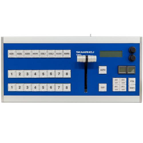 SKAARHOJ C201 Desktop Controller with 2X SmartSwitches