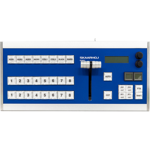 SKAARHOJ C201 Desktop Controller with T-Bar