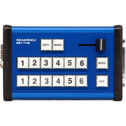 SKAARHOJ E21-TVS MII Pocket Controller with Optional GPI