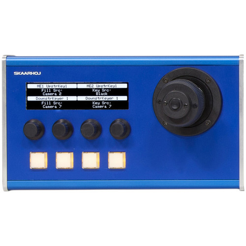 SKAARHOJ MC Series MC10 Master Portable Desktop Controller