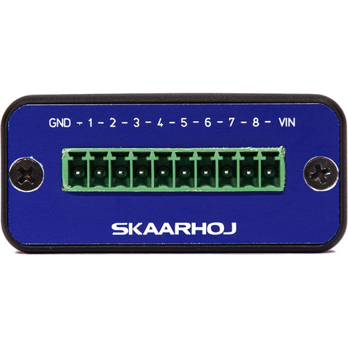 SKAARHOJ Micro GPIO Box with 8 Channel Input or Output
