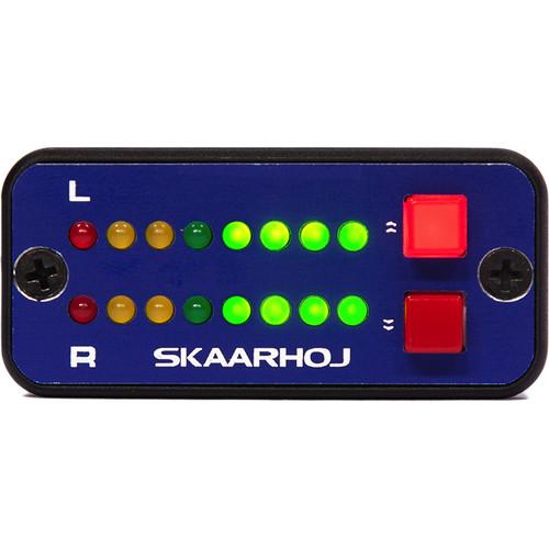 SKAARHOJ Micro Levels Box with VU Meter