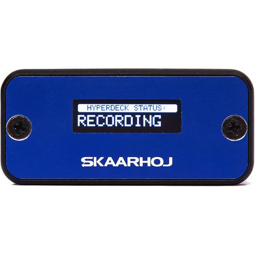 SKAARHOJ Micro Monitor Box with Monitoring OLED Display