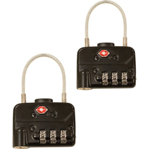 SKB TSA Combination Cable Padlocks (2-Pack)