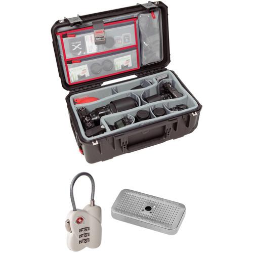 SKB 20ll-7 Case with Divider Set, Lid Organizer, TSA Lock, Desiccant Gel (B&H Kit)