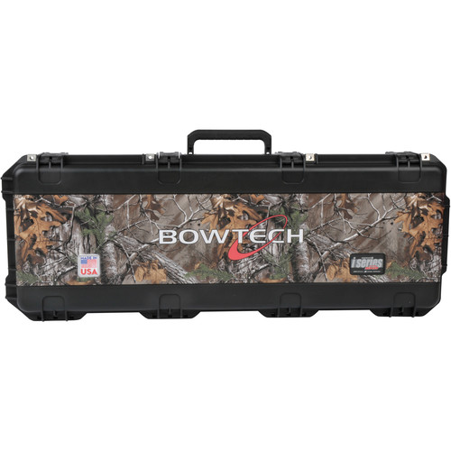 SKB Realtree Camo Vinyl Wrap with Bowtech Logo for All iSeries 4214 Cases