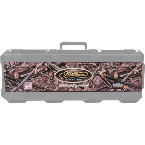 SKB Lost Camo Vinyl Wrap with Mathew Logo for All iSeries 4214 Cases