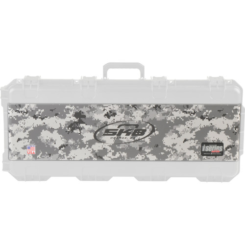 SKB Military Digital Camo Vinyl Wrap with SKB Logo for All iSeries 3614 Cases (Grey)