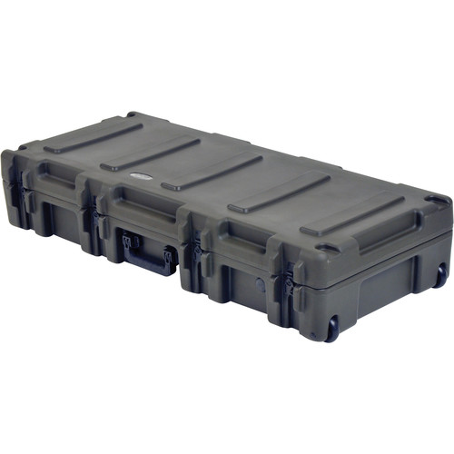"SKB 2R4417-8 Roto Mil-Std 8"" Deep Waterproof Case with Dual Layer Foam (Military Green)"