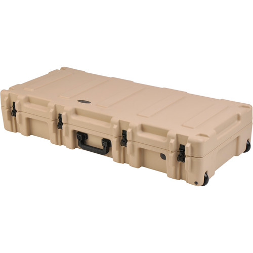 "SKB 2R4417-8 Roto Mil-Std 8"" Deep Waterproof Case with Dual Layer Foam (Tan)"
