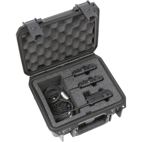 SKB iSeries Waterproof Case for 2-Channel Sony UWP Wireless Mic System