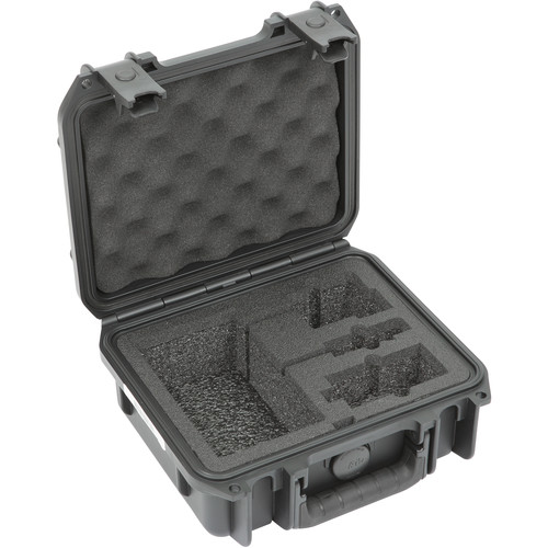 SKB iSeries Injection Molded Case for Sony UWP-D Bodypack and Plug-On Wireless Transmitters and Receiver Systems