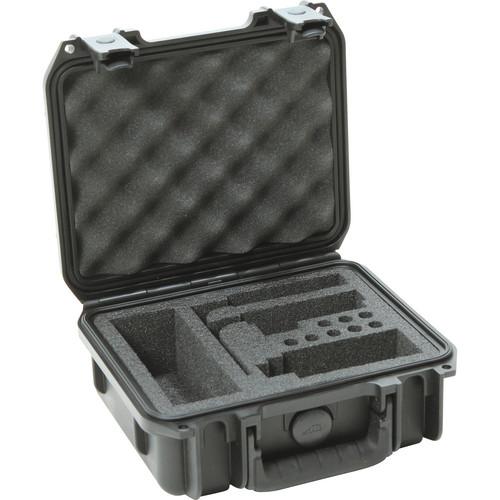 SKB iSeries Mil-Standard Injection-Molded Waterproof Shure FP Wireless Microphone Case
