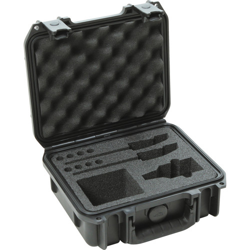 SKB iSeries Military Standard Waterproof Sennheiser EW Wireless Mic System Case