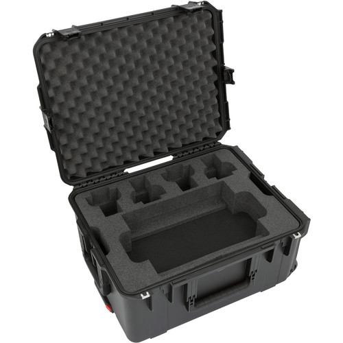 SKB iSeries Waterproof Case with Wheels for RODECaster Pro and Four PodMics