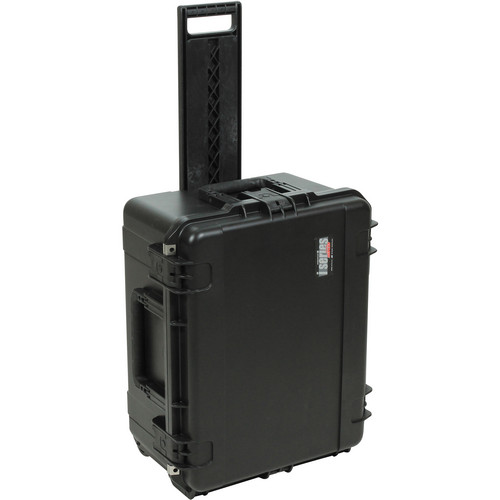 SKB iSeries Waterproof Case with Wheels and Pull Handle for Korg MS20 Mini (Black)