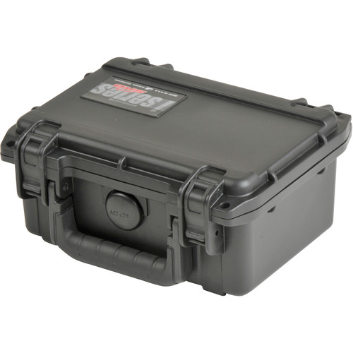 SKB iSeries Waterproof Utility Case with Cubed Foam Interior (Black)