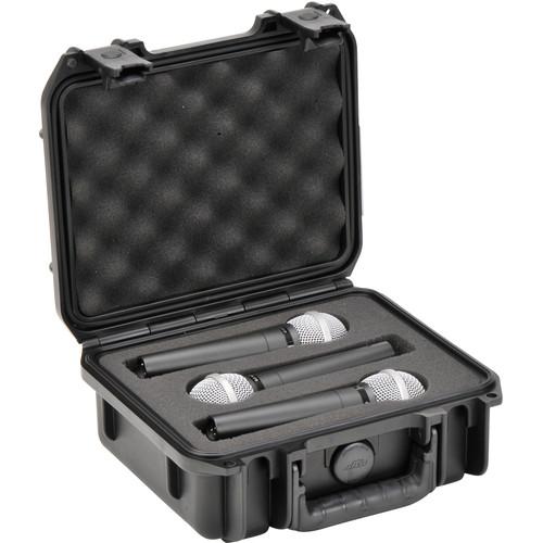 SKB iSeries 0907 Waterproof Three-Mic Case