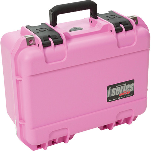 SKB iSeries 1309-6 Watertight Case with Dividers (Pink)