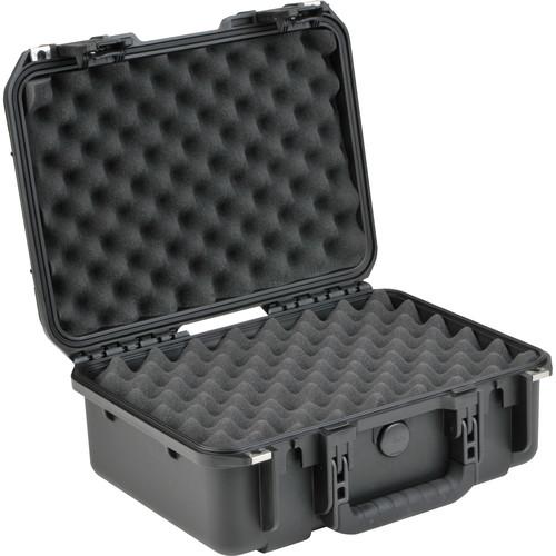 SKB iSeries 1510-6 Waterproof Utility Case with Layered Foam (Black)
