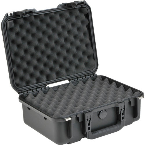 SKB iSeries 1510-6 Waterproof Utility Case with Layered Foam (Black)