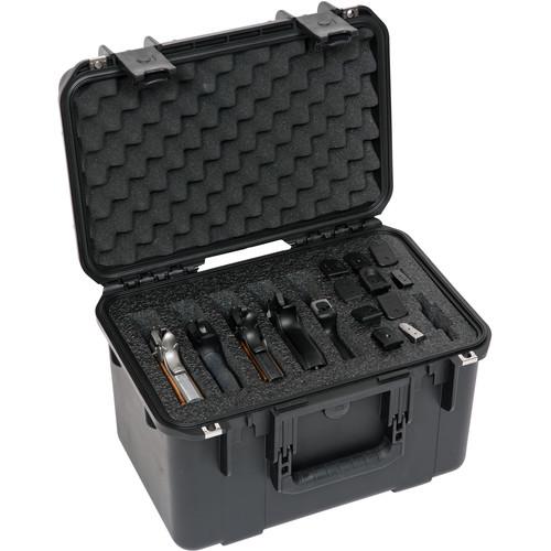 SKB iSeries 1610-10 Five Handgun Case (Black)