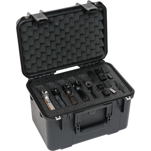 SKB iSeries 1610-10 Five Handgun Case (Black)