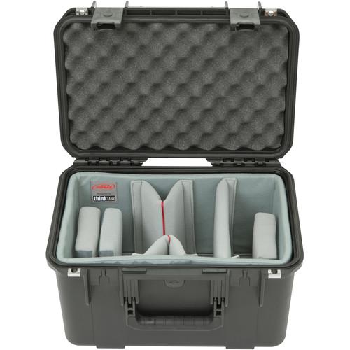 SKB iSeries 1610-10 Waterproof Case with Video Dividers and Lid Foam (Black)