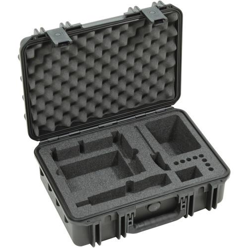 SKB iSeries Mil-Standard Injection-Molded Waterproof Sennheiser EW Wireless Microphone Case