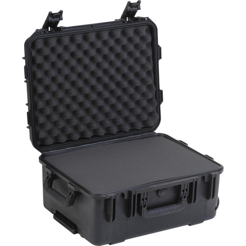 "SKB Mil-Standard Watertight Case 8"" with Layered Foam and Pull"