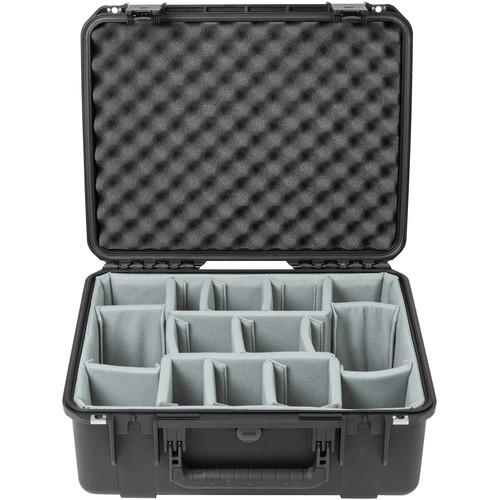 SKB iSeries 1914N-8 Case with Think Tank-Designed Photo Dividers &Lid Foam (Black)