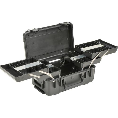 SKB iSeries 2011-7 Watertight Tech Box with Dual Trays (Black)