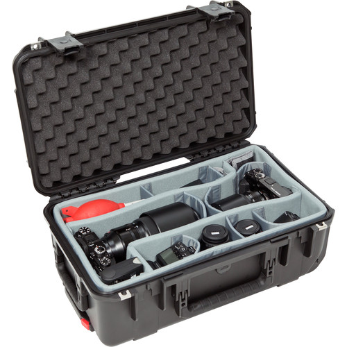 SKB iSeries 2011-7 Case with Think Tank Photo Dividers &Lid Foam (Black)