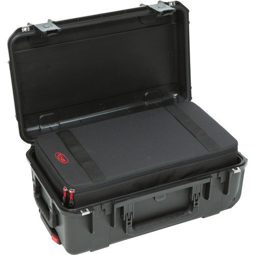 SKB iSeries 2011-7 Case w/Think Tank Designed Removable Zippered Divider Interior (Black)