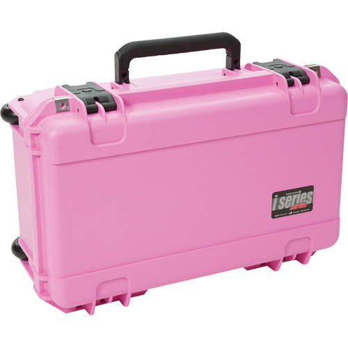 SKB iSeries 2011-7 Watertight Case with Dividers (Pink)