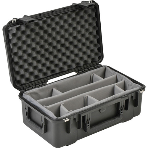 "SKB Mil-Standard Waterproof Case, 8"" Deep with Gray Padded Dividers"