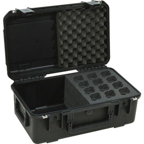 SKB iSeries Waterproof Case for 12 Mics and Cables