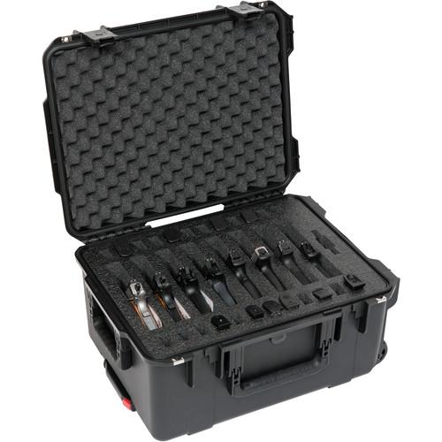 SKB iSeries 2015-10 Eight Handgun Case (Black)