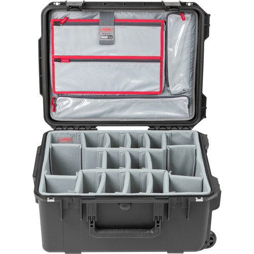 SKB iSeries 2015-10 Case with Think Tank Photo Dividers &Lid Organizer (Black)