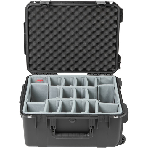 SKB iSeries 2015-10 Case with Think Tank-Designed Photo Dividers & Lid Foam (Black)