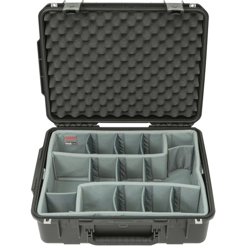 SKB iSeries 2015-7 Case with Think Tank-Designed Photo Dividers & Lid Foam (Black)